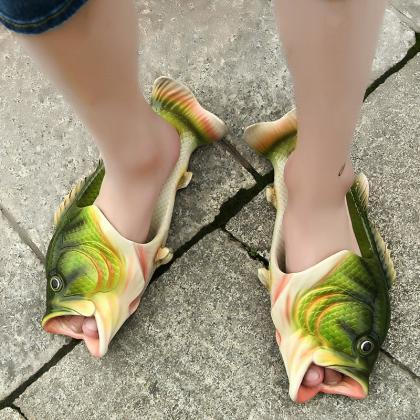 Creative Fish Type Slippers Persona..