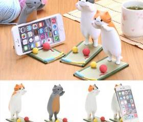 Cute Cat Phone Brack..