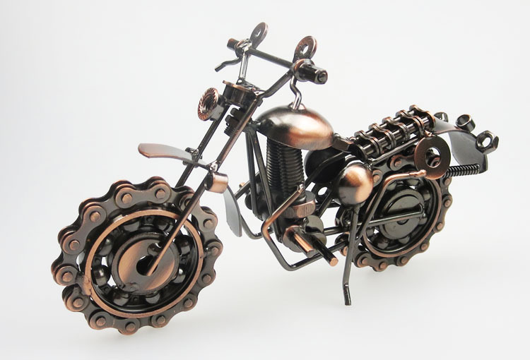 Motorcycle Home Decoration Iron Crafts Creative Motorcycle Gift