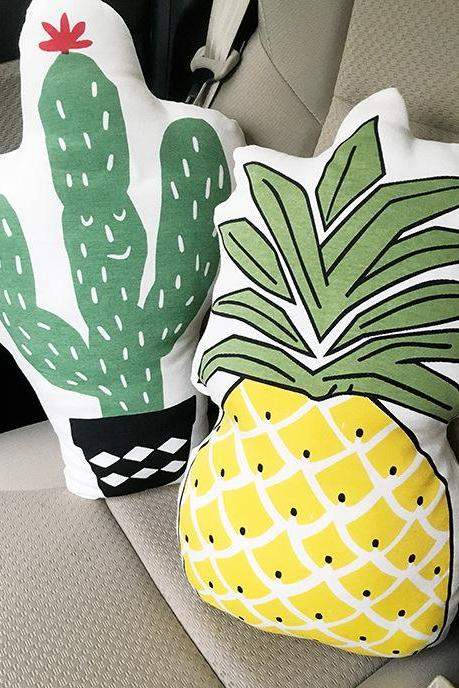 Lovely Pineapple Pillow Doll Cactus Cushion Home Decoration Photo Decoration