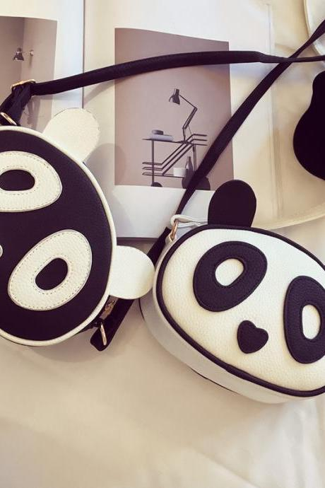 Panda Coin Purse Cute Phone Package Fashion Animal Shoulder Bag