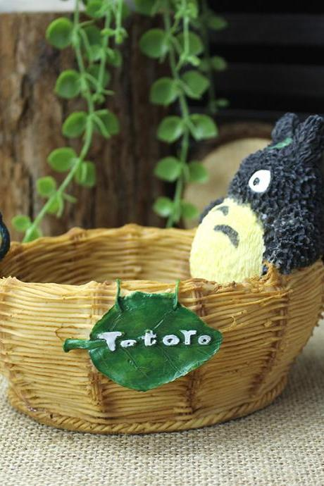 Fashion Anime My Neighbor Totoro Ashtray Creative Home Decoration Cute Gift