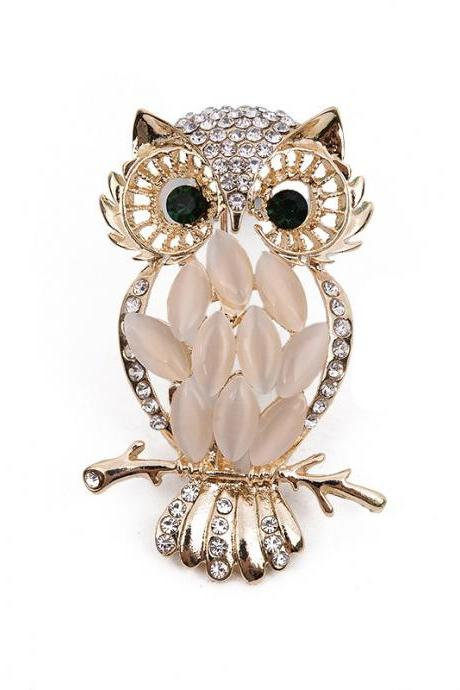 Owl Brooch Cute Animal Brooch Fashion Creative Brooch