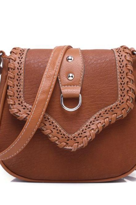 Women's Fashion Vintage Cutout Hollow Shoulder Bag