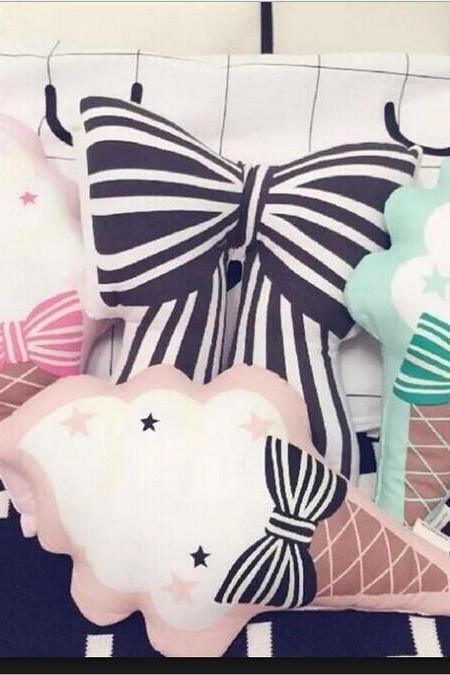 Lovely Ice Cream Pillow Doll Home Decoration Photo Decoration